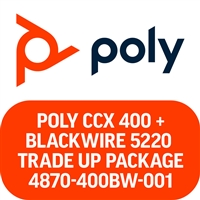 Poly CCX 400 and Blackwire 5220 Microsoft Teams Trade Up Package