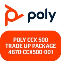 Poly CCX 500 Microsoft Teams Trade Up Package
