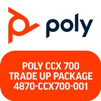 Poly CCX 700 Microsoft Teams Trade Up Package
