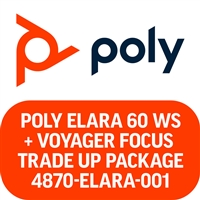 Poly Elara 60 WS and Voyager Focus Microsoft Teams Trade Up Package