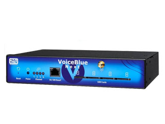 2N VoiceBlue Next SIP Gateway, 4 GSM Channels (Telit)