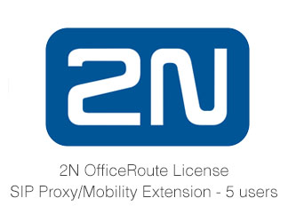 2N OfficeRoute License, SIP Proxy/Mobility Extension (5 Users)