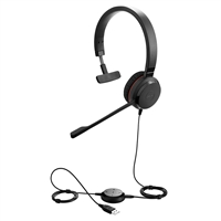 Jabra Evolve 30 II MS Mono USB & 3.5mm Wired Headset