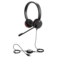 Jabra Evolve 30 II MS Stereo USB & 3.5mm Wired Headset
