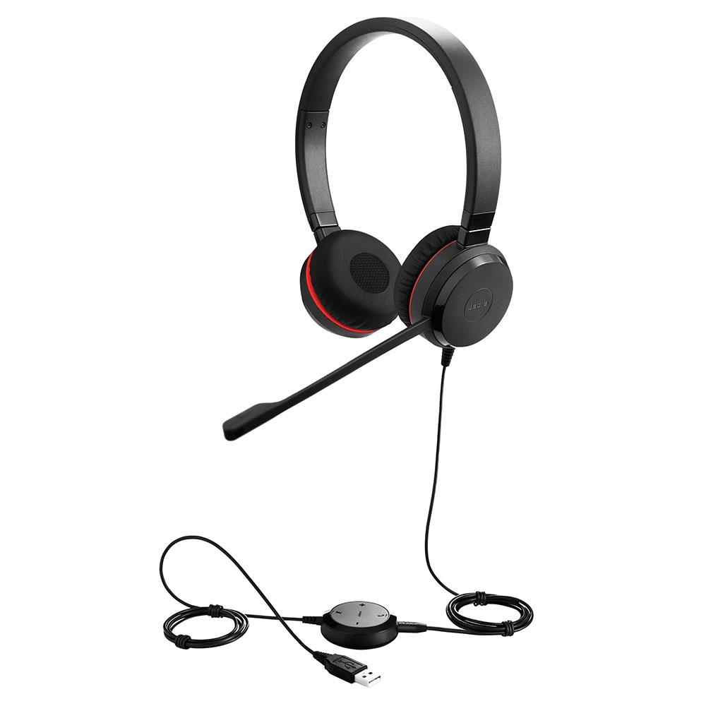 Jabra Evolve 30 II Duo Headset, Skype for Business - 5399-823-309