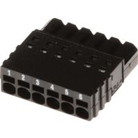 Axis 6-Pin Straight Connector A, 2.5mm, 10-Pack - 5505-271
