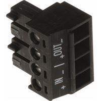 Axis Connector A 4-pin 3.81 Straight In/Out, 10-Pack - 5505-291