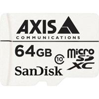Axis 64 GB Surveillance Micro SDXC Card, 10-Pack - 5801-961