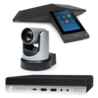 Poly Trio 8500 EagleEye IV USB HP Zoom Rooms Bundle