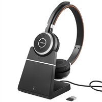 Jabra Evolve 65 MS Stereo Headset with Charging Stand