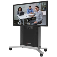 "Polycom Group 500 Single 55"" Display Media Center"
