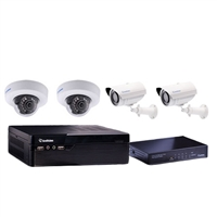GeoVision 88-SNEFD-EBL 4 Channel NVR Security Bundle