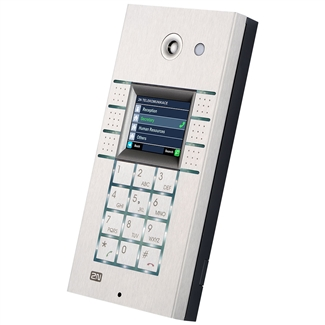 2N Helios IP Vario, 6 Buttons, Display, Keypad