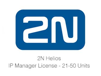 2N Helios IP Manager, (21-50 Units)