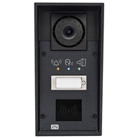 2N Helios IP Force Intercom, 1 Button, SD Camera, Pictograms, RFID Ready
