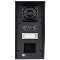 2N Helios IP Force IP69K Intercom, 1 Button, Pictograms, RFID Ready