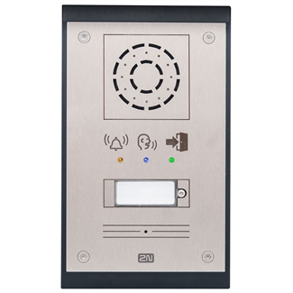 2N Helios IP Uni Intercom, 1 Button, Pictograms