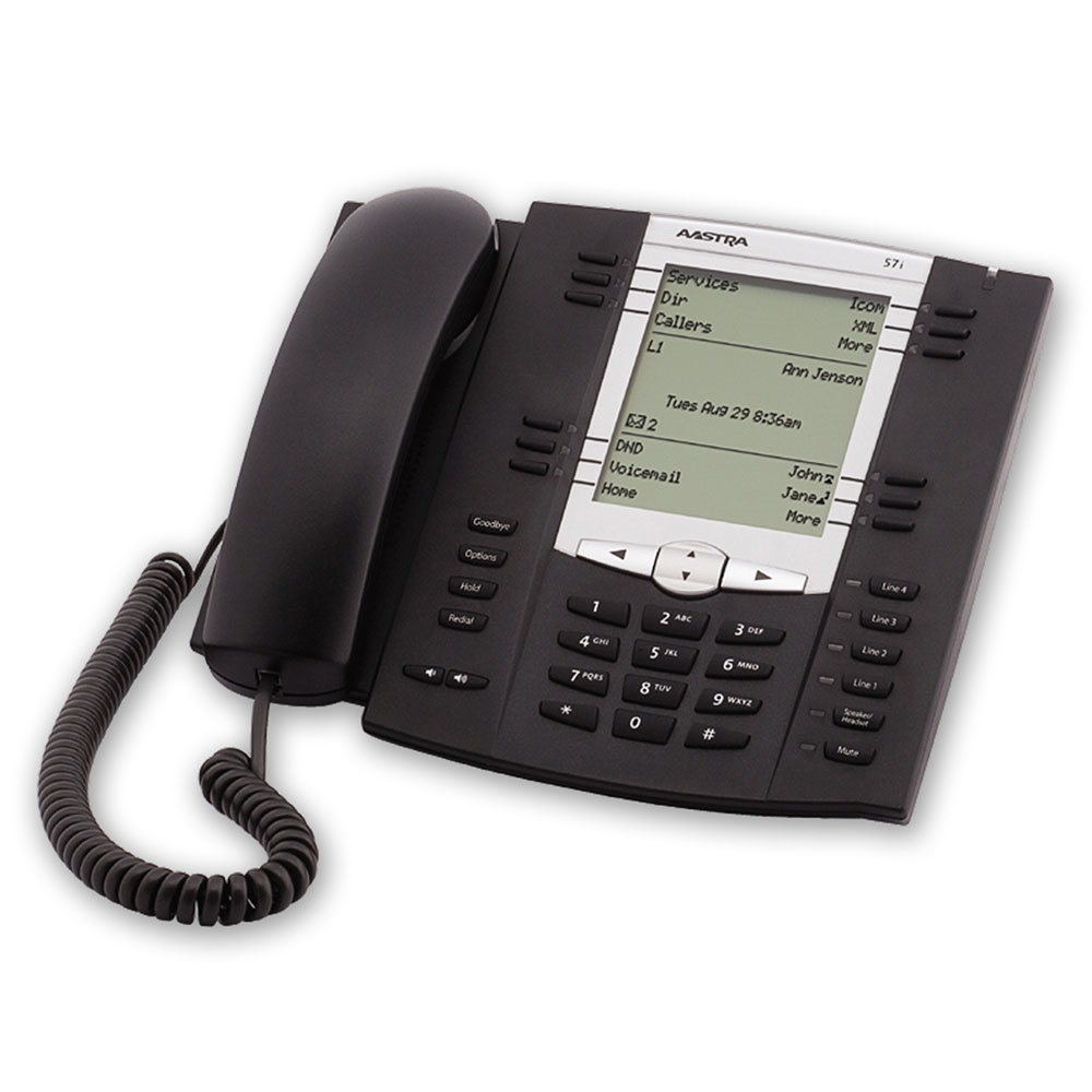 Mitel 6757 SIP Phone, Refurbished - A1757-0131-10-01