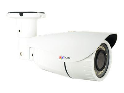 ACTi A41, 3MP Outdoor Zoom Bullet, Network Surveillance Camera