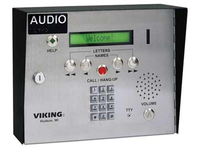 Viking Aes 2005s Door Phone With Camera Ip Phone Warehouse