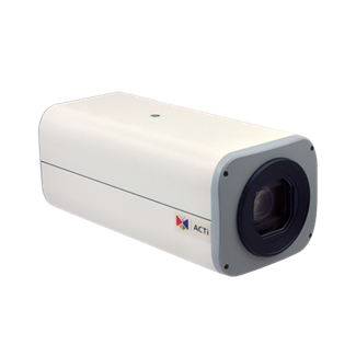 ACTi B27, 3MP Outdoor Zoom Box, Network Surveillance Camera