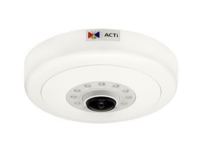 ACTi B511, 12MP Video Analytics Indoor Hemispheric Dome, Network Surveillance Camera