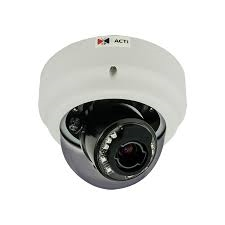 ACTi B67, 3MP Indoor Zoom Dome, Network Surveillance Camera