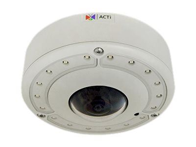 ACTi B76, 12MP Video Analytics Outdoor Hemispheric Dome, Network Surveillance Camera