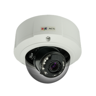 ACTi B81, 5MP Outdoor Zoom Dome, Network Surveillance Camera