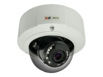 ACTi B83, 2MP Video Analytics Outdoor Zoom Dome, Network Surveillance Camera