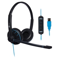 JPL Telecom Blue Commander-2 USB Headset