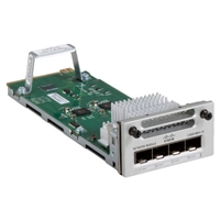 Cisco 4-Port SFP Gigabit Expansion Module for Catalyst 3850