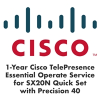 Cisco 1-Year Essential Operate Service for SX20N with Precision 40