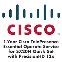Cisco 1-Year Essential Operate Service for SX20N with PrecisionHD 12x