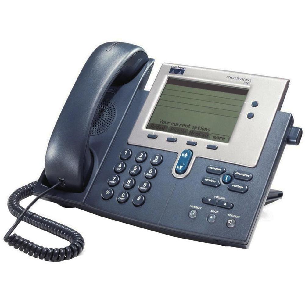 Cisco CP-7940G DUAL PORT IP PHONE