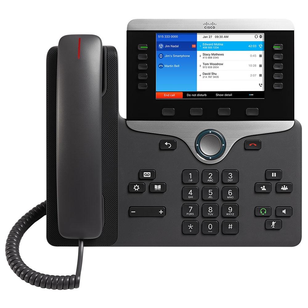 Cisco 8851 SIP VoIP Phone - CP-8851-3PCC-K9