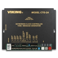 Viking CTG-2A Networked Clock Controlled Tone & Message Generator