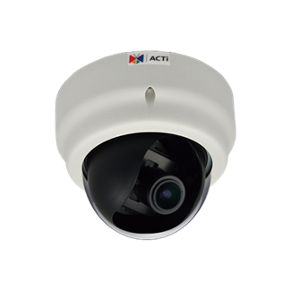 ACTi D62A, 2MP Indoor Dome, Network Surveillance Camera