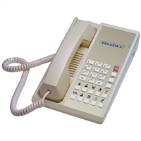Teledex DA210N10D Ash 1-Line Analog Hotel Room Phone