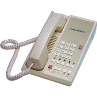 Teledex DA210S5D Ash 1-Line Analog Hotel Room Phone