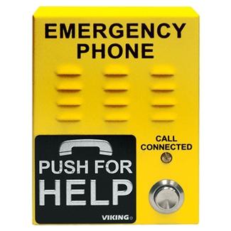 Viking E 1600 45 Ip Yellow Voip Emergency Phone Ip Phone