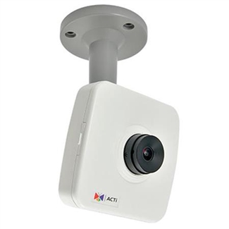 ACTi E15, 5MP Fisheye Cube Wdr Fix Len, Network Surveillance Camera