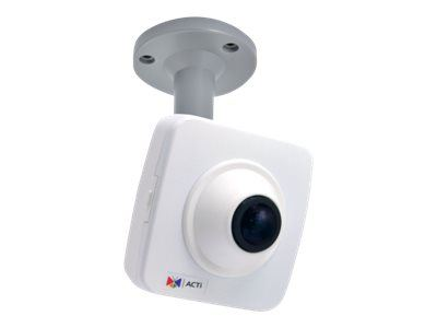 ACTi E16, 10MP Fisheye Cube Wdr Fix Len, Network Surveillance Camera