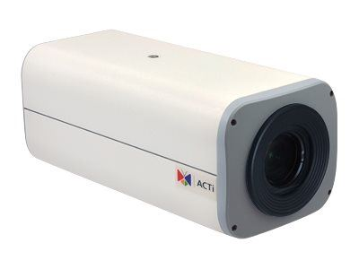 ACTi E210, 10MP Outdoor Zoom Box, Network Surveillance Camera