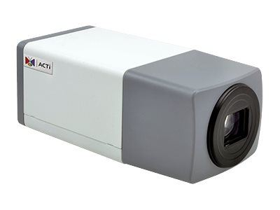 ACTi E219, 2MP Video Analytics Outdoor Zoom Box, Network Surveillance Camera