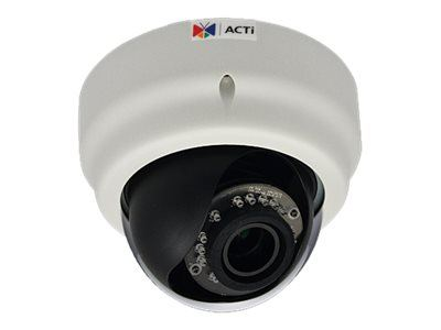 ACTi E64A, 1MP Indoor Dome, Network Surveillance Camera