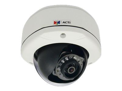 ACTi E71A, 1MP Outdoor Dome, Network Surveillance Camera