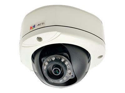 ACTi E76, 2MP Outdoor Dome, Network Surveillance Camera