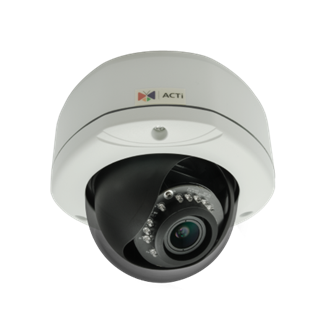 ACTi E84A, 2MP Outdoor Dome, Network Surveillance Camera