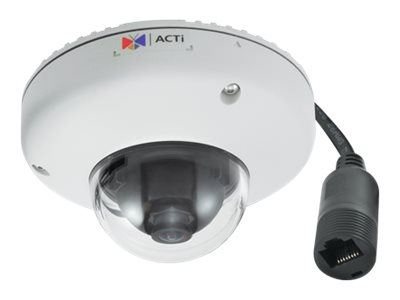 ACTi E922, 10MP Outdoor WDR Fix Len Mini Dome, Network Surveillance Camera